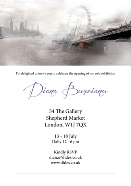 Upcoming London Exhibition